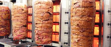 Maquinaria para kebab