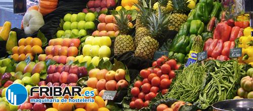 fribar estanterías para frutería
