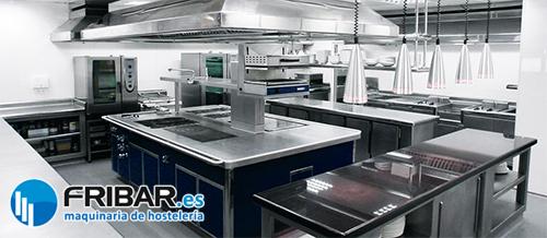 Maquinaria para cocina de restaurante fribar for Precio cocina industrial para restaurante