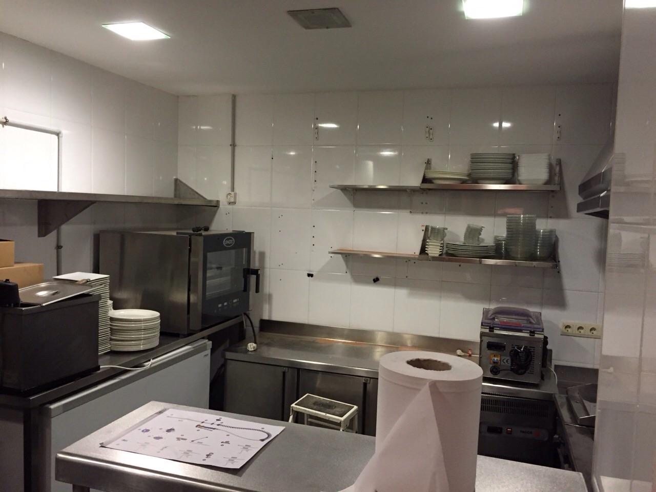 Pizzería Alcavalo cocina