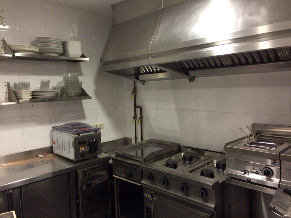 Pizzería Alcavalo zona cocina