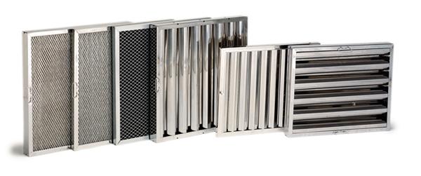 Filtros de aire electrostáticos