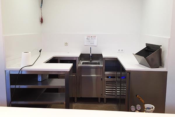 Aprovechamiento del espacio en cocinas reducidas