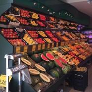 Góndolas de fruta y más instalaciones en San Sebastián de los Reyes