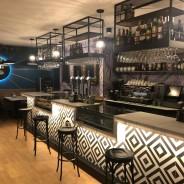 El Restaurante Briscas de la Sierra de Guadarrama luce barra nueva