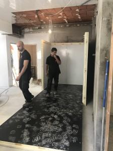 Cámara panelable en proceso